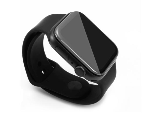 Apple Watch Panzerglas 44 mm von FlightLife montiert