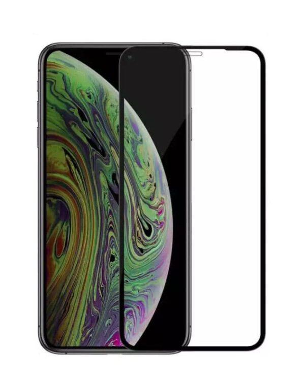 Panzerglas iPhone XR als Displayschutz in Schwarz