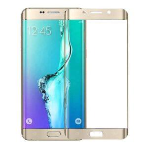 Samsung Galaxy S6 Edge Gold Panzerglas