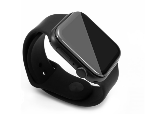 Apple Watch Panzerglas 40 mm von FlightLife montiert