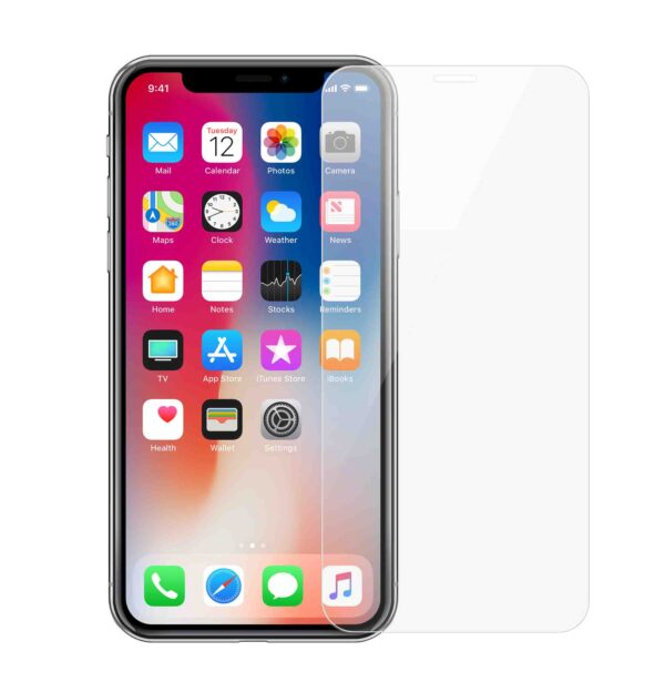 Panzerglas iPhone 11 als Displayschutz in Transparent