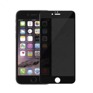 Privacy Screen mit Panzerglas für iPhone 6 Blickschutzfilter schwarz