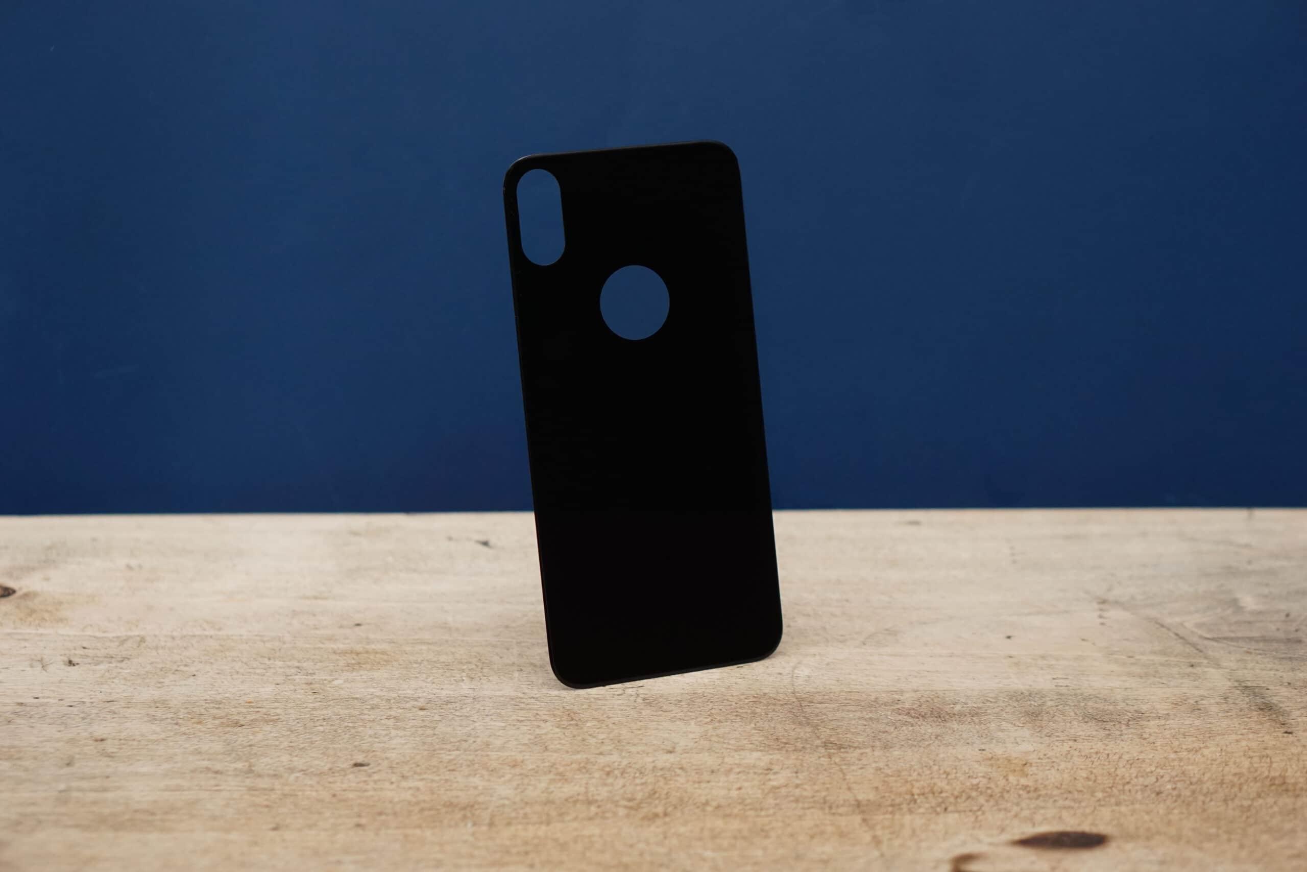 Panzerglas Apple iPhone X Rückseite