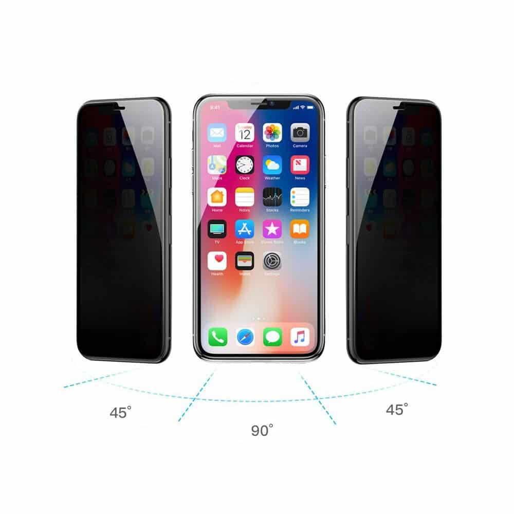 3D Privacy Panzerglas iPhone 12 mini