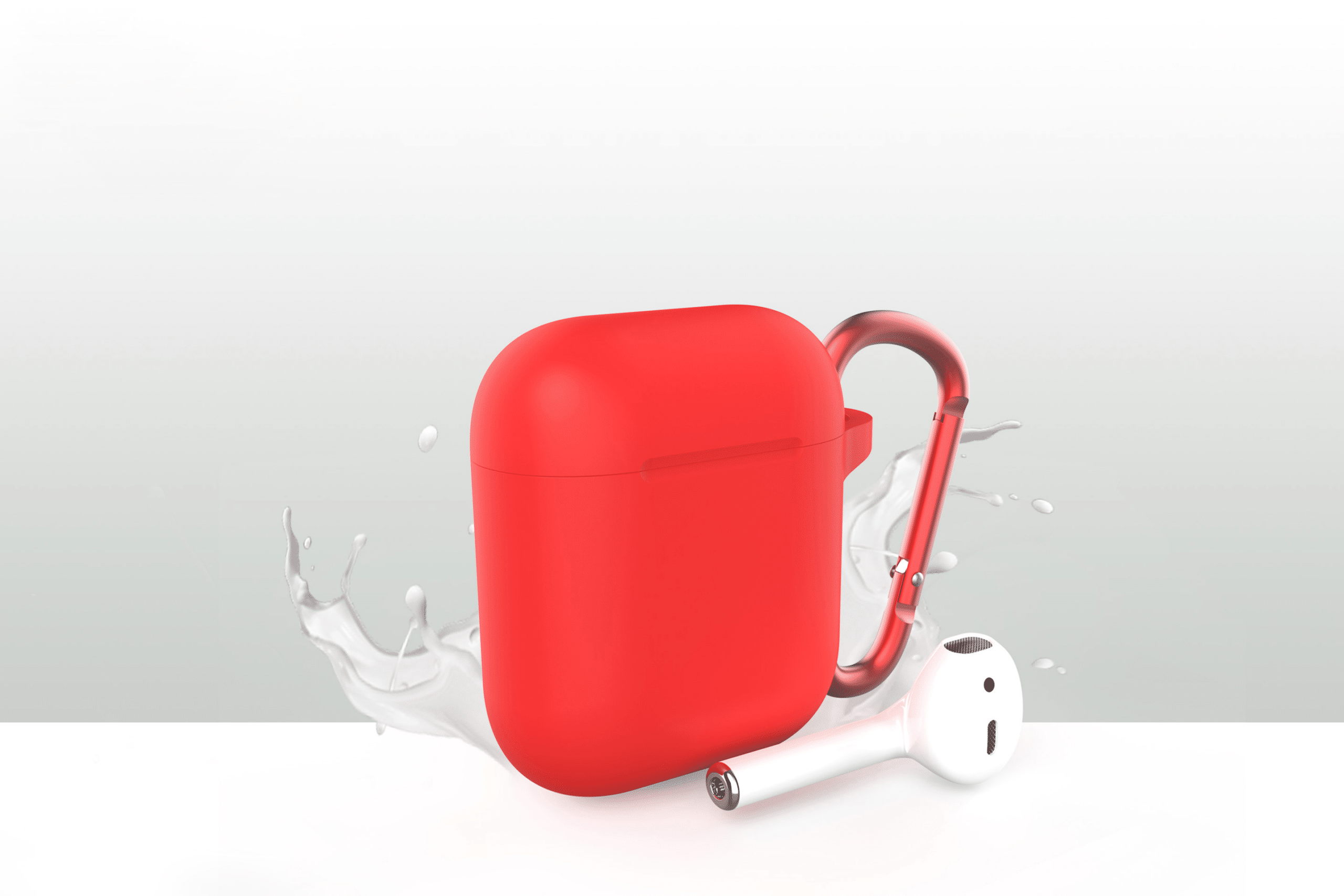 FlightLife AirPods Case Fire Red